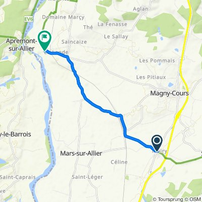 Steady ride in Saincaize-Meauce