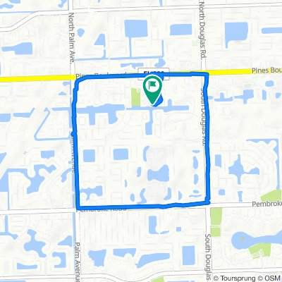 Moderate route in Pembroke Pines