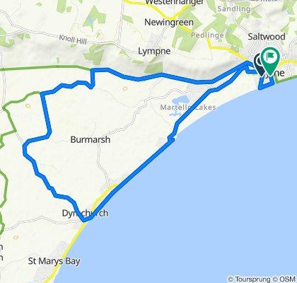 20 Saint Leonards Road, Hythe to 2 Napier Gardens, Hythe