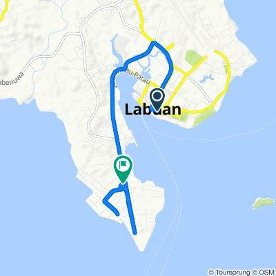 Jalan Merdeka, Labuan to Jalan Patau Patau, Labuan
