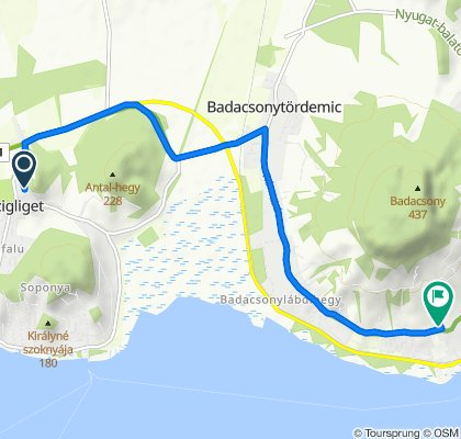 Slow ride in Badacsonytomaj