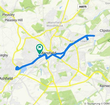 Skegby to Pleasley