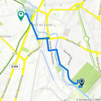 Itinéraire vers 34 Rue des Trois Forgerons, Dijon