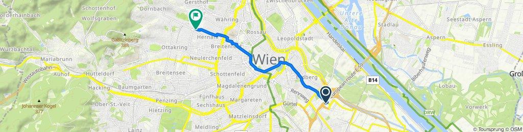 Easy ride in Wien
