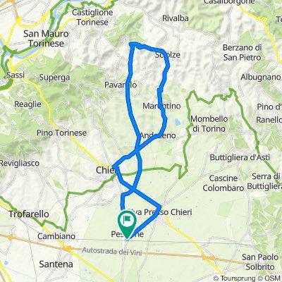 Pessione - Bardassano - Sciolze - Marentino - Andezeno - Chieri - Riva