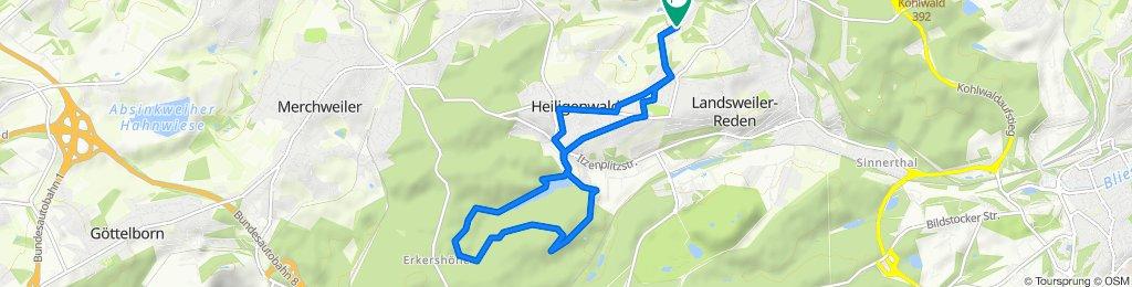 Graulheck 29B, Schiffweiler nach Graulheck 34, Schiffweiler