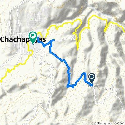 Ruta a Jirón Piura, Chachapoyas