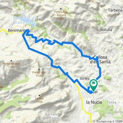 Rón's Guadalest Ride