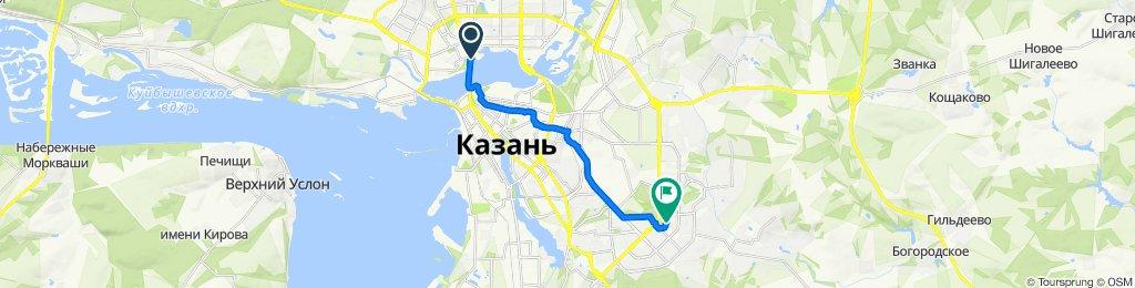 Da Кремлёвская дамба, Kazan' a улица Кул Гали, 3, Kazan'