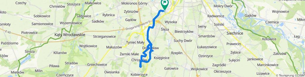 Przyjaźni 66, Wrocław do Przyjaźni 66, Wrocław