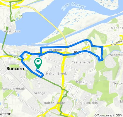 Moderate route in Runcorn