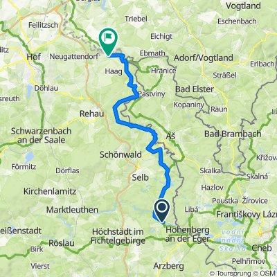 Egerweg 39, Hohenberg an der Eger nach Regnitzlosau