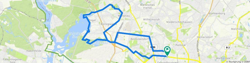 Osloer Straße 15, Berlin to Prinzenallee 65–69, Berlin