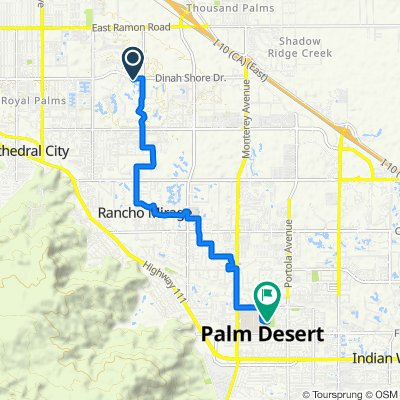 339 Forest Hills Dr, Rancho Mirage to 43930 San Pablo Ave, Palm Desert
