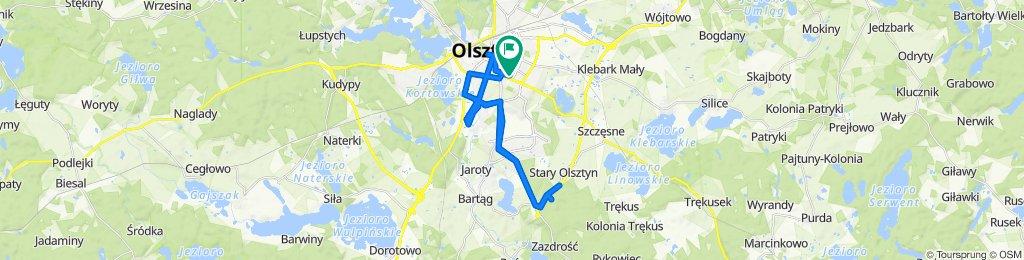 Easy ride in Olsztyn