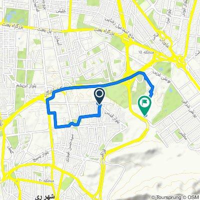 بلوار قدس, Shahr-e Rey to Imam Ali Expressway, Masoudieh