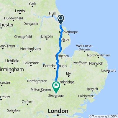 20 Newlands Park, Grimsby to 39 Whitehorse Street, Baldock