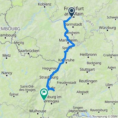 Frankfurt nach Zürich part 1