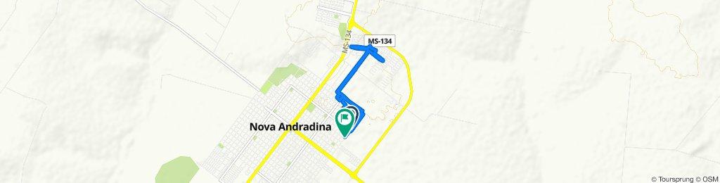 Steady ride in Nova Andradina
