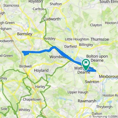5 Strathmore Grove, Rotherham to 1 Strathmore Grove, Rotherham