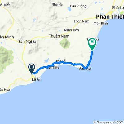 Đường Phạm Hồng Thái 37, tx. La Gi to Lạc Long Quân, Thành phố Phan Thiết