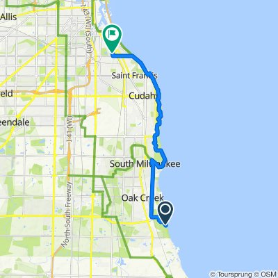 Restful route in Milwaukee