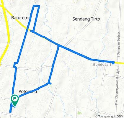 Restful route in Bantul