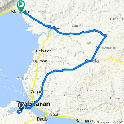 Blistering ride in Maribojoc