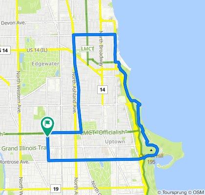 4735 N Damen Ave, Chicago to 4733 N Damen Ave, Chicago