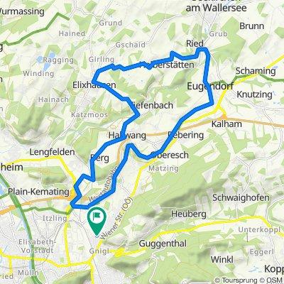 Salzburg – Eugendorf – Elixhausen