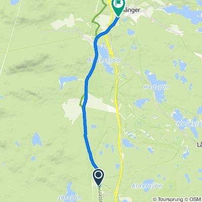 Jungfrukustvägen, Norrala to Jungfrukustvägen, Enånger