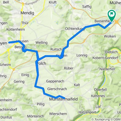 Bassenheim - Mayen - Münstermaifeld