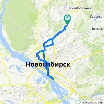 От улица Богдана Хмельницкого, 90/1, Новосибирск до улица Богдана Хмельницкого, 90/1, Новосибирск