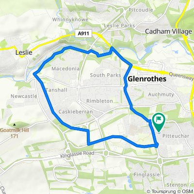Craigs Easy Route - Glenrothes