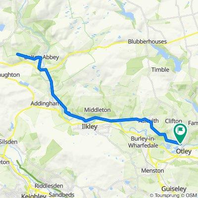 Otley to Bolton Abbey ish