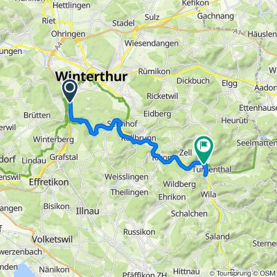 Steady ride in Turbenthal