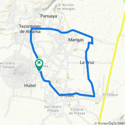 Paseo rápido en Tezontepec de Aldama