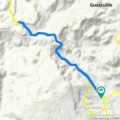 De Carretera a Olancho, Comayagüela a Carretera a Olancho, Comayagüela