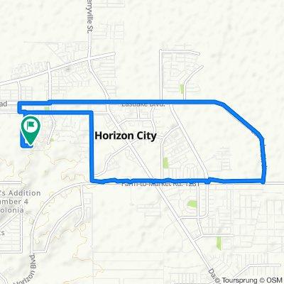 Easy ride in Horizon City