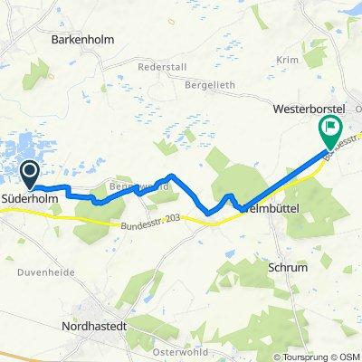 Restful route in Welmbüttel