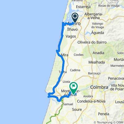 Aveiro - Coimbra (25km from Coimbra actually)