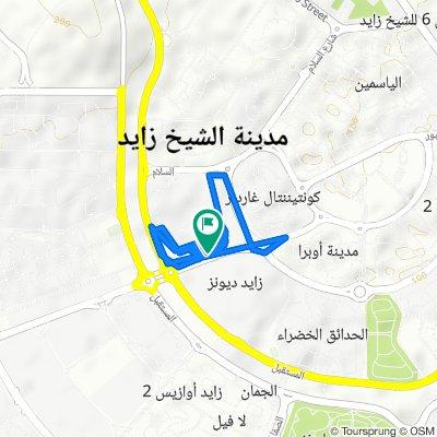 Restful route in Al Haram