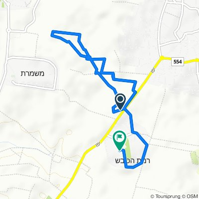 Ramat HaKovesh Junction to Unnamed Road, Ramat HaKovesh
