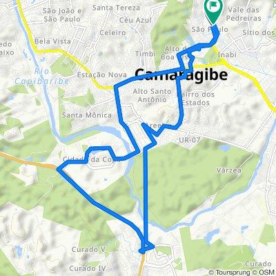 De Estrada de Aldeia, 520, Camaragibe a Rua Cosme e Damiao, 25, Camaragibe