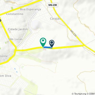 De Avenida Dom Almir Marques, 5352–6016, Patrocínio a Avenida Dom Almir Marques, 5040–5350, Patrocínio