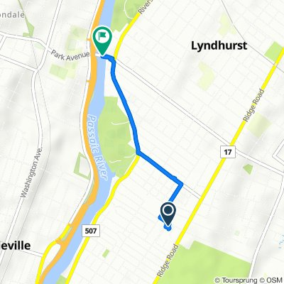Supersonic route in Lyndhurst