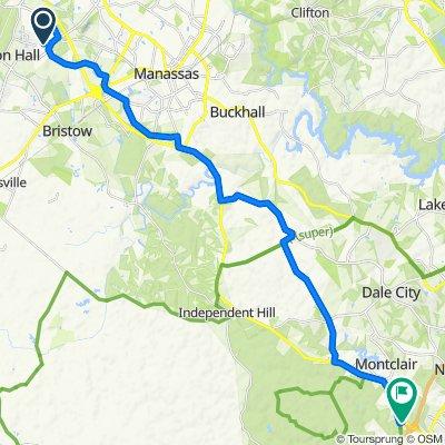 Phipps Farm Way 8723, Manassas to Fettler Park Drive 3880, Dumfries
