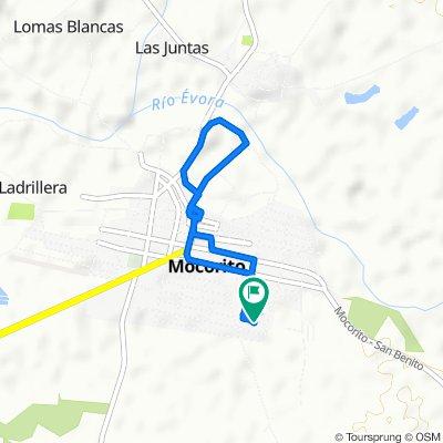 Moderate route in Mocorito