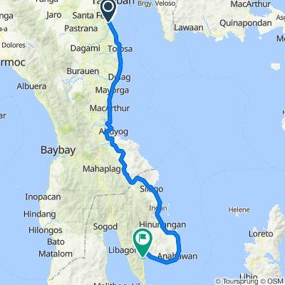 day 10; tacloban to saint bernard