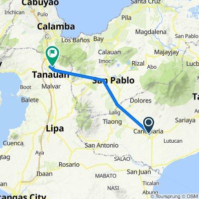 Argao Street, Candelaria to Brgy. San Bartolome Road 235, Santo Tomas